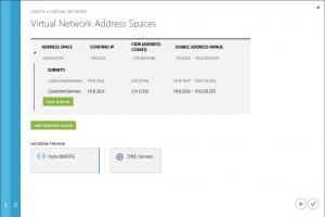 Define network adress space