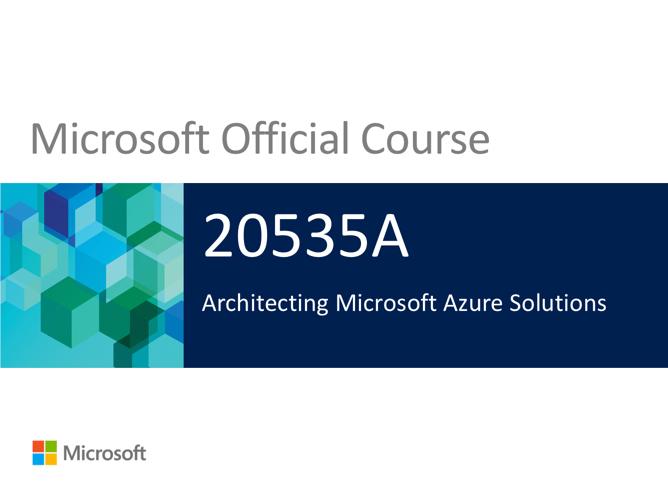 Azureman MOC20535A Azure Windows coaching training consultancy knowhow Microsoft