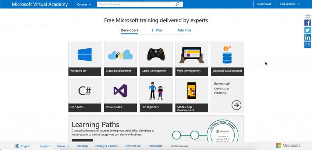Azureman goodbye MVA Azure Windows coaching training consultancy knowhow Microsoft
