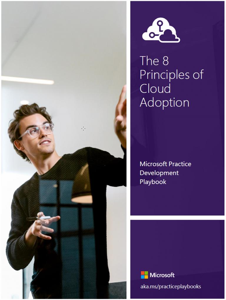 Azureman 8 principles of cloud adoption Windows coaching training consultancy knowhow Microsoft