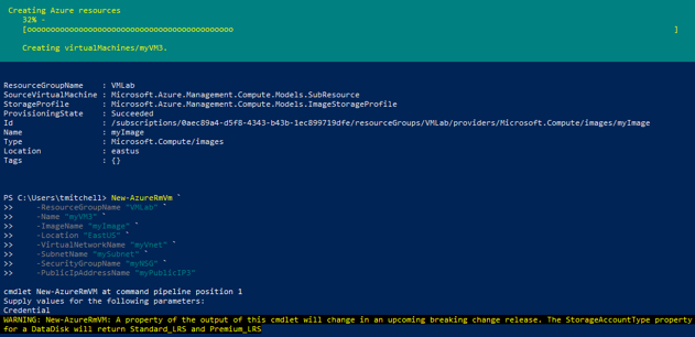 Working with images in Azure PowerShell | AzureMan com